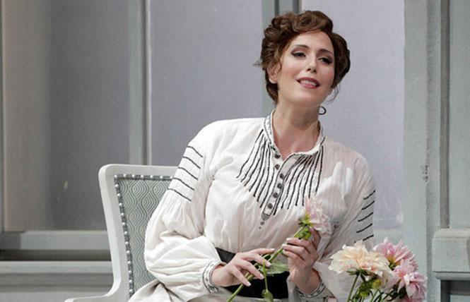 "Ellie Dehn in the title role of Strauss' ""Arabella."" Photo: Cory Weaver/San Francisco Opera"