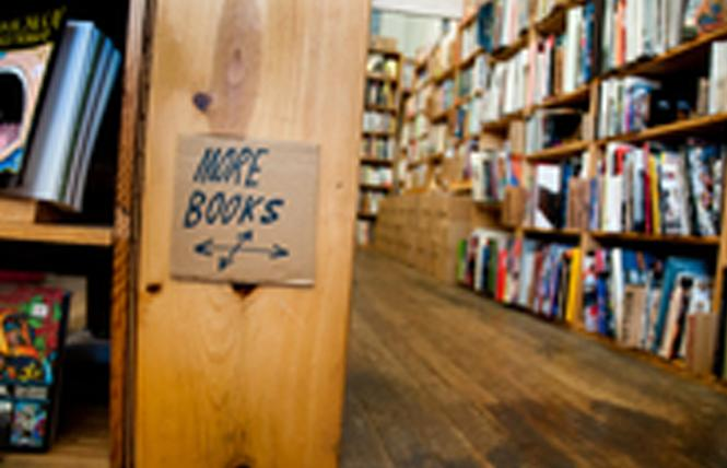 Dog Eared Books, with locations in the Castro and Mission, received a share of a city grant to help bookstores. Photo: Courtesy Dog Eared Books