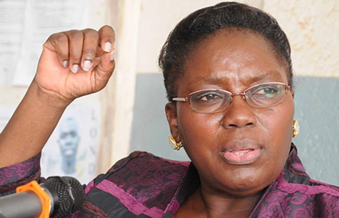 Uganda Parliamentary Speaker Rebecca Kadaga. Photo: Courtesy New Vision