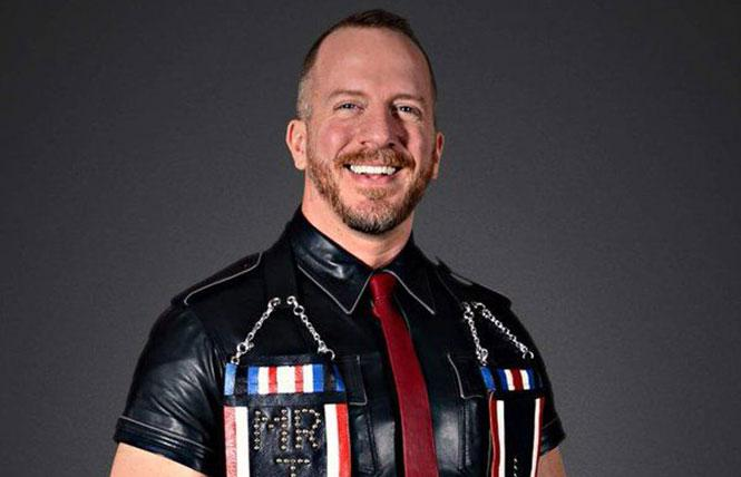 "Brian ""Bolt"" Donner, renowned Alpha pup and leatherman. photo: Bryan Patrick Photography"
