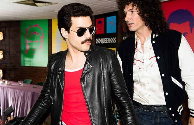 "Rami Malek channels the late rock star Freddie Mercury in director Bryan Singer's ""Bohemian Rhapsody."" Photo: Alex Bailey"