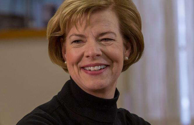 Wisconsin Senator Tammy Baldwin is seeking re-election. Photo: Courtesy Baldwin for Senate campaign