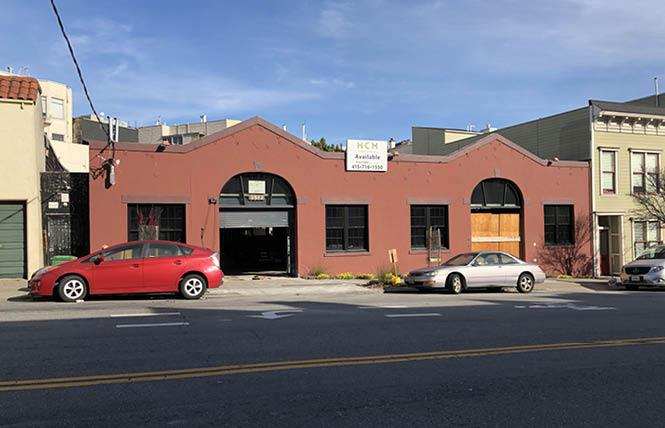 A real estate firm plans to move into the vacant auto space on 16th Street. Photo: Matthew S. Bajko