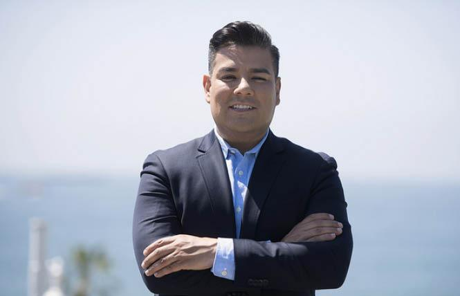 Gay state insurance commissioner candidate Ricardo Lara finds himself the underdog heading into Tuesday's election. Photo: Lara for Insurance Commissioner campaign