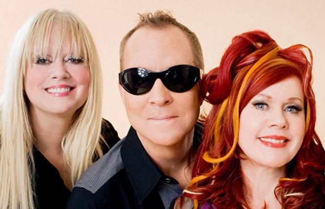 Fred Schneider, Kate Pierson and Cindy Wilson of The B-52s: legendary! Photo: Courtesy the artists