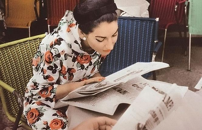 "Maria Callas in director Tom Volf's ""Maria by Callas."" Photo: Sony Pictures Classics"