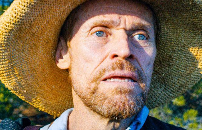 "Willem Dafoe as Dutch master painter Vincent Van Gogh, in director Julian Schnabel's ""At Eternity's Gate."" Photo: CBS Films"
