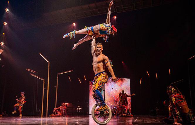 Cirque du Soleil @ AT&T Park Thu 15 photo: Matt Beard