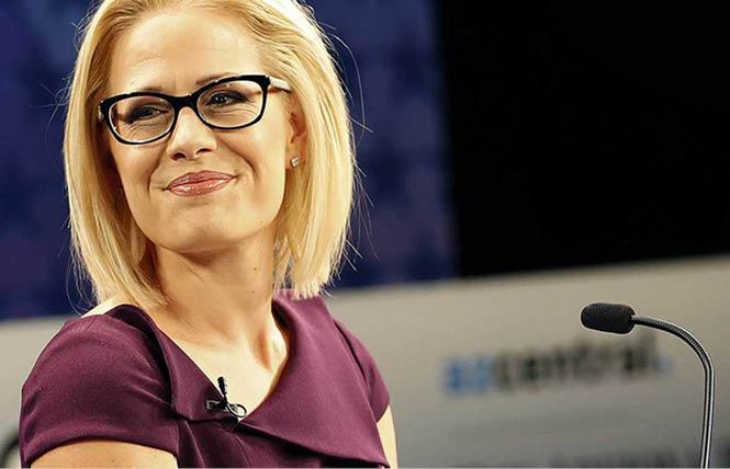 Senator-elect Kyrsten Sinema made history with her win in Arizona.