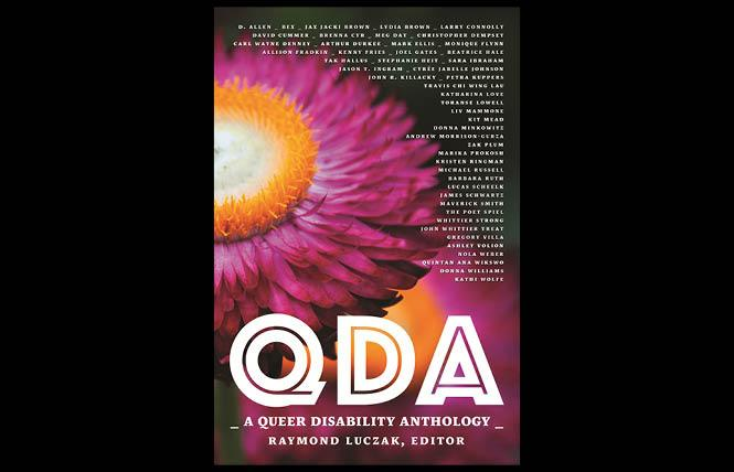 "Raymond Luczak, founder of Squares and Rebels, published ""QDA: A Queer Disability Anthology."""