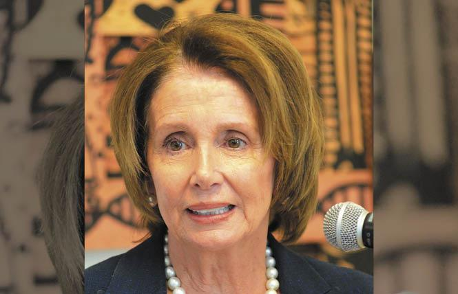 House Minority Leader Nancy Pelosi. Photo: Rick Gerharter
