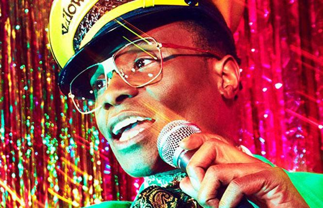 """Billy Porter as the gay HIV+ emcee Pray Tell in """"Pose."""" Photo: FX Networks"""