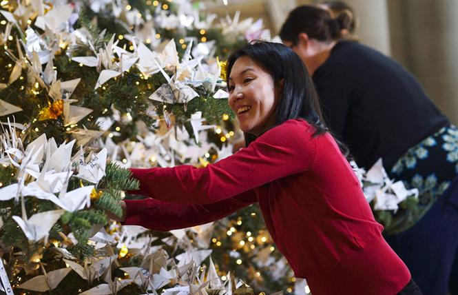 World Tree of Hope Decorating @ Grace Cathedral Mon 26