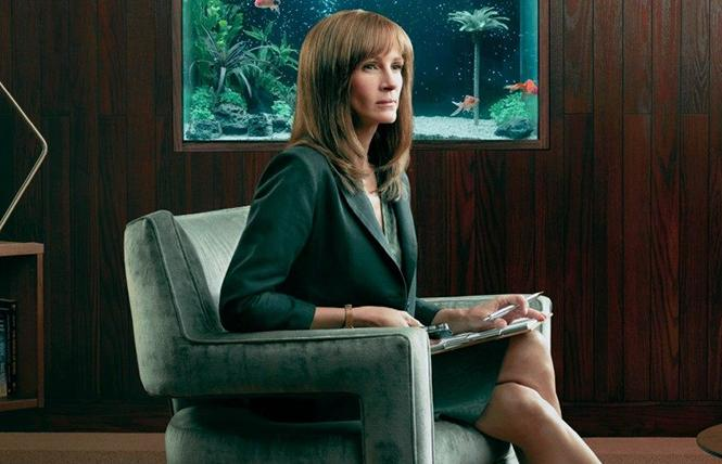 "Julia Roberts in director Sam Esmail's ""Homecoming."" Photo: Amazon Prime"