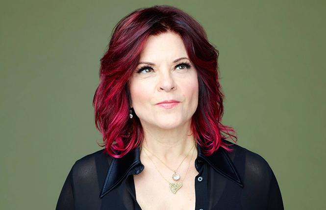 """Rosanne Cash: """"More California new country than Tennessee rockabilly."""" Photo: Michael Lavine"""
