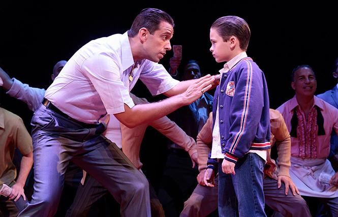 "Scene from ""A Bronx Tale,"" now playing at the SHN Golden Gate Theatre. Photo: Courtesy SHN"
