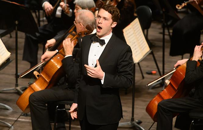 """The Future Is Now: Adler Fellows Concert"" with Christian Pursell and the San Francisco Opera Orchestra. Photo: Kristen Loken/San Francisco Opera"