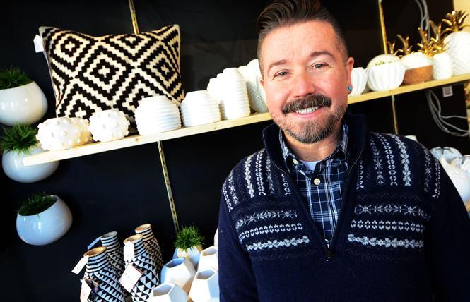 Seth Morrison hopes his recently opened home decor store, Stag & Manor, adds to the retail synergy of upper Market Street. Photo: Rick Gerharter