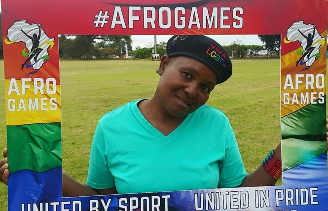 AfroGames founder Hlengiwe Buthelezi. Photo: Courtesy Facebook