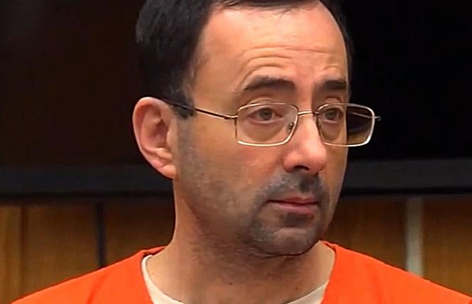 Former USA Gymnastics national team doctor Larry Nassar