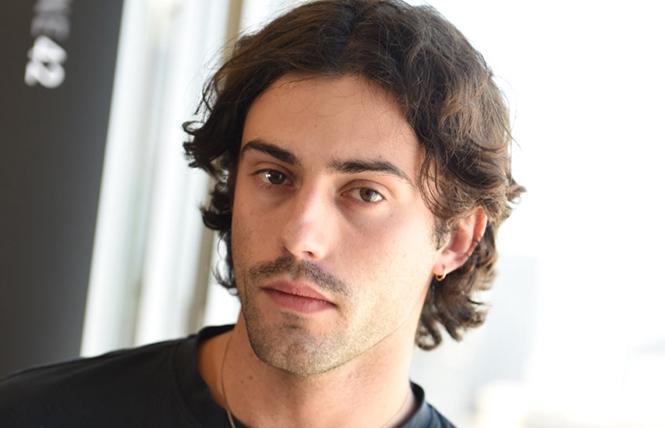 "Aaron Altaras plays gorgeous, dark-haired soccer player Leon Saldo in ""Mario."" Photo: Steven Underhill"