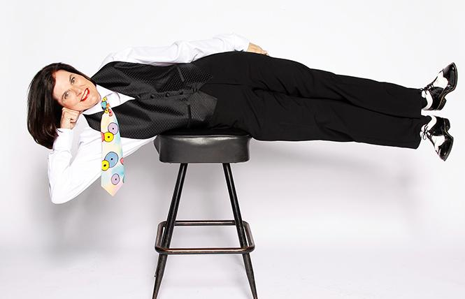 "Paula Poundstone: ""I can't help but talk about the mess we're in."" Photo: Courtesy the artist"