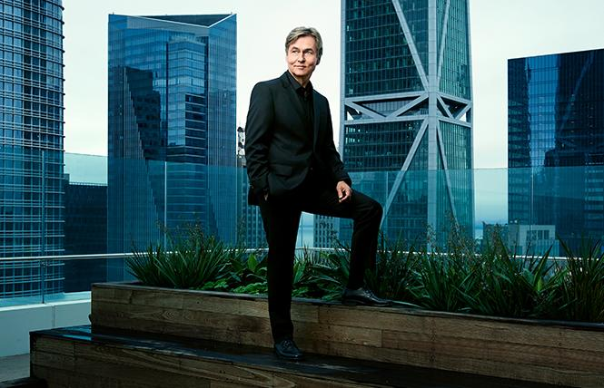 Esa-Pekka Salonen was named Music Director Designate of the San Francisco Symphony. Photo: Andrew Eccles