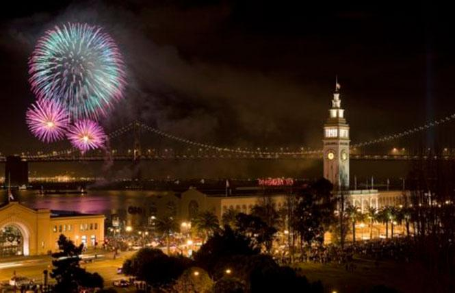 The Commonwealth Club's New Year's Eve party will include great views of the fireworks show.
