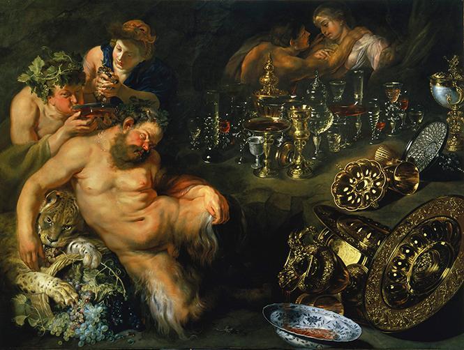 "Peter Paul Rubens, ""The Dreaming Silenus"" (1610-1612). Oil on canvas, Gemäldegalerie der Akademie der bildenden Künste Wien. Photo: Courtesy of the Fine Arts Museums of San Francisco"