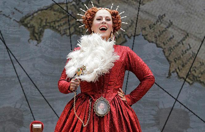 "Sondra Radvanovsky as Elisabetta in Donizetti's ""Roberto Devereux."" Photo: Cory Weaver/San Francisco Opera"