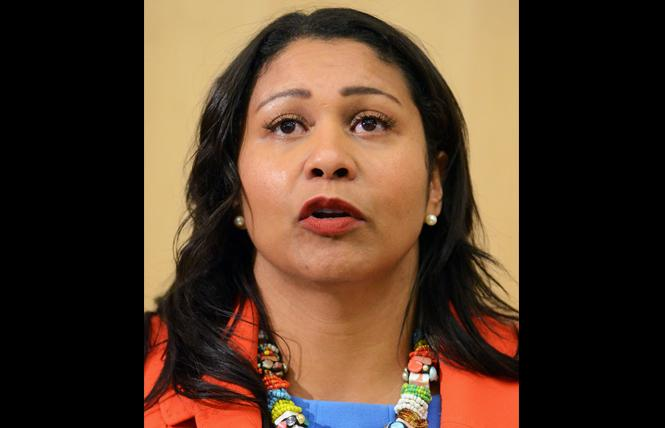 Mayor London Breed. Photo: Rick Gerharter