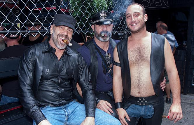 Cigar daddies at the SF Eagle. photo: Rich Stadtmiller