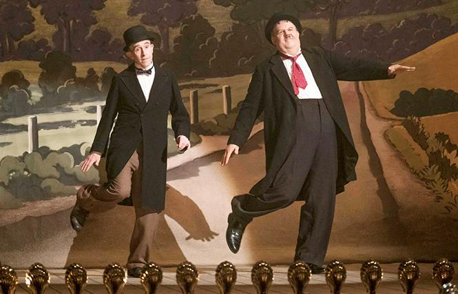 "Steve Coogan and John C. Reilly are ""Stan & Ollie."" Photo: Sony Pictures Classics"