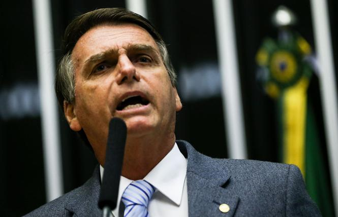 Brazil's new President Jair Bolsonaro signed an executive order revoking LGBT rights. Photo: Marcelo Camargo/Agência Brasil