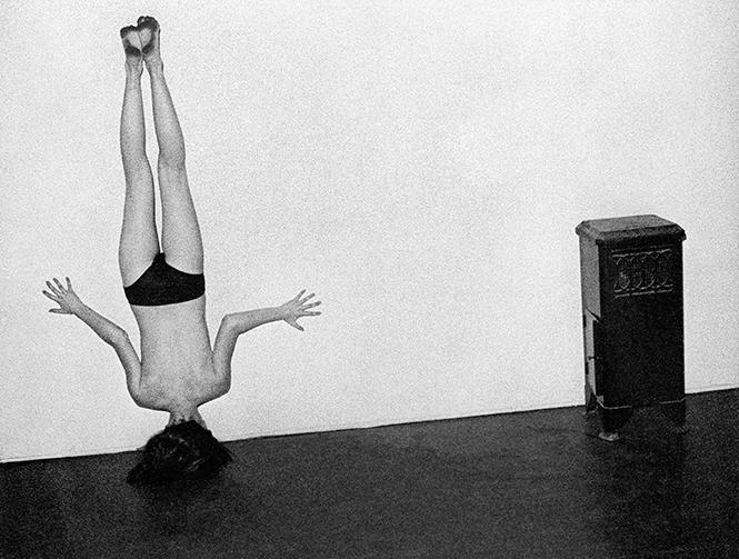 "Steve Kahn, ""Nude 11"" (1974). Gelatin silver print. Mary and Dan Solomon Collection. Photo: Courtesy FAM/SF"