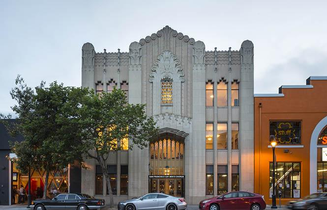 The San Francisco Gay Men's Chorus has purchased this building, which will become a national LGBTQ arts center. Photo: Jeff Zaruba