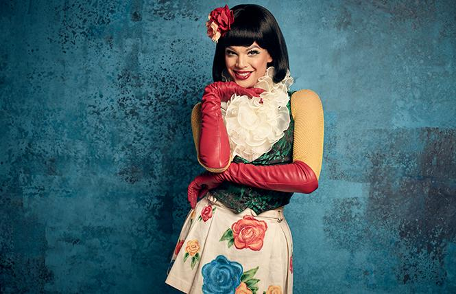 "Valentina plays Angel, an HIV+ drag queen, in ""Rent Live."" Photo: Fox-TV"