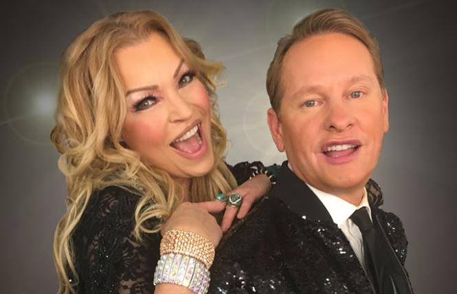 Kristine W. and Carson Kressley