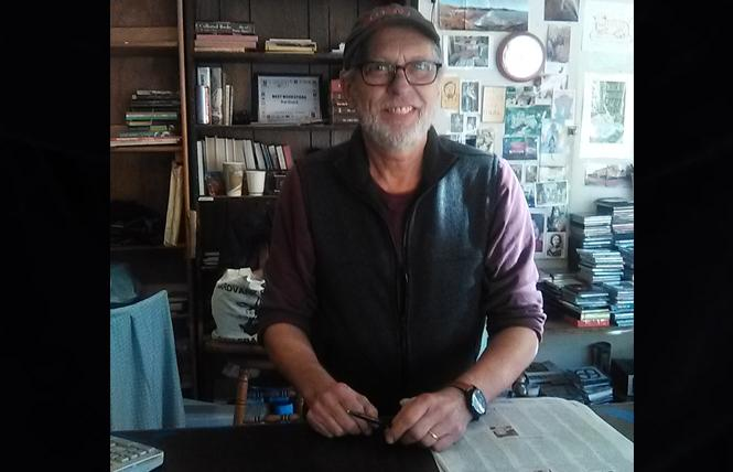 Longtime Aardvark Books employee Dan Lugen said he will miss the store. Photo: Brian Bromberger