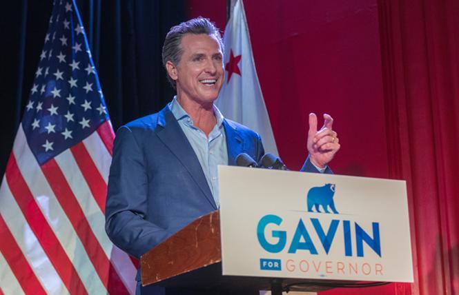 Governor Gavin Newsom. Photo: Jane Philomen Cleland