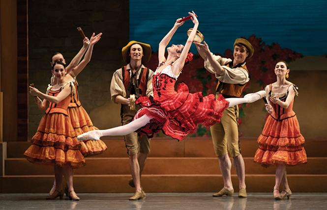 "San Francisco Ballet dancer Mathilde Froustey in Tomasson/Possokhov's ""Don Quixote."" Photo: Erik Tomasson"