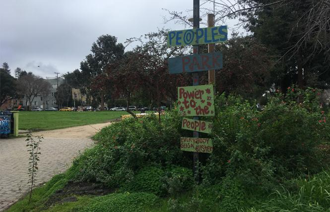 As UC Berkeley threatens (yet again) to build on People's Park, its defenders are assembling this weekend to respond. Photo: Christina A. DiEdoardo
