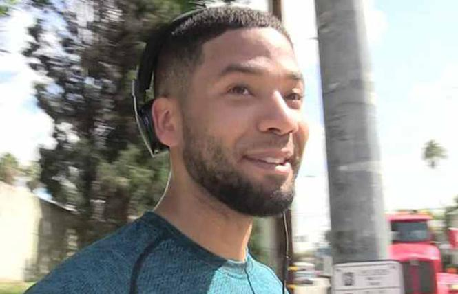 "Black gay actor Jussie Smollett (""Empire""). Photo: DMZ"