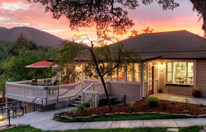 The Olea Hotel is a tranquil getaway in Glen Ellen, Sonoma County. Photo: Courtesy Olea