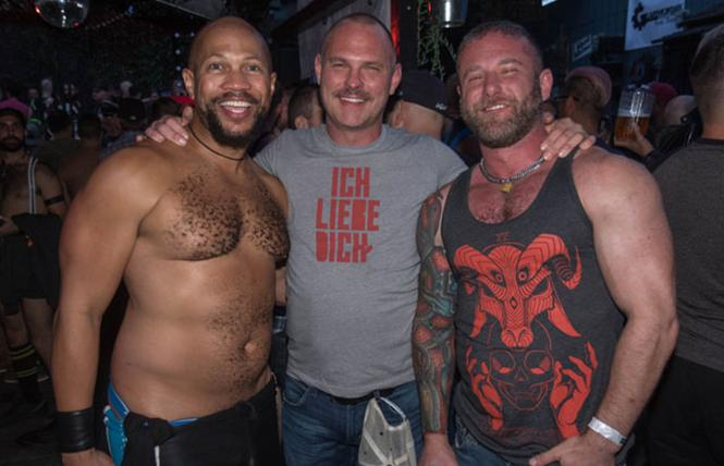 Familiar hunky faces at the SF Eagle. photo: Rich Stadtmiller