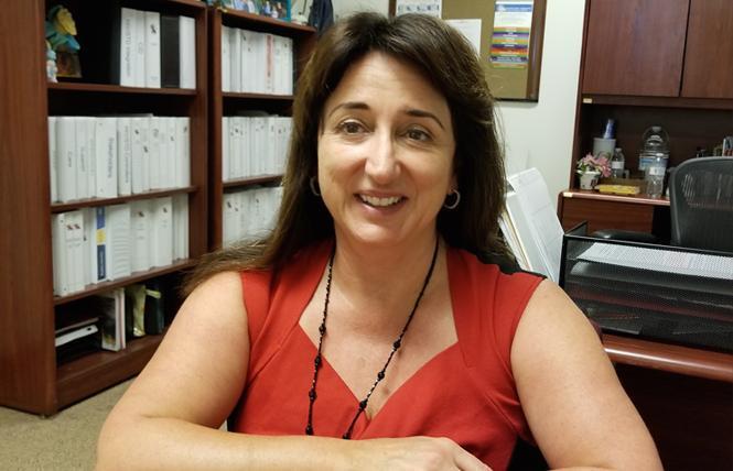 Marisa Ramos, Ph.D., is again the state's interim AIDS czar. Photo: Courtesy CADPH