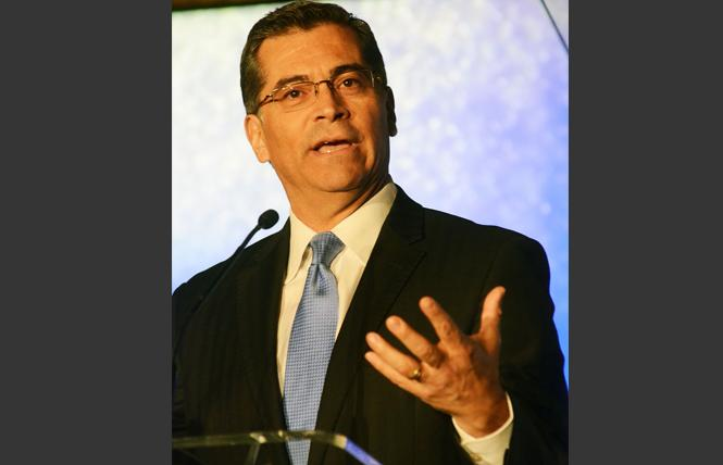 California Attorney General Xavier Becerra. Photo: Rick Gerharter
