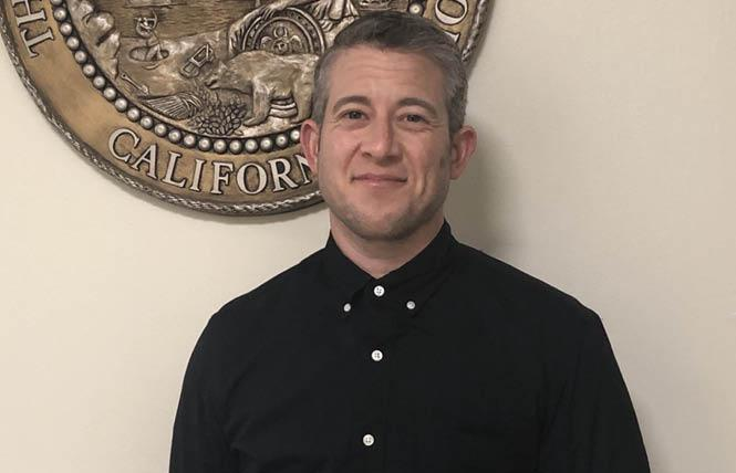 JP Petrucione, Governor Gavin Newsom's director of digital media, is believed to be the highest-ranking transgender appointee in state government.