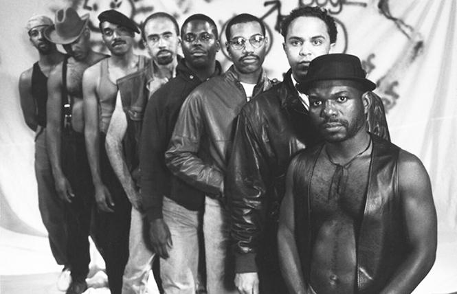 """Scene from director Marlon Riggs' """"Tongues Untied."""" Photo: Courtesy the artist"""