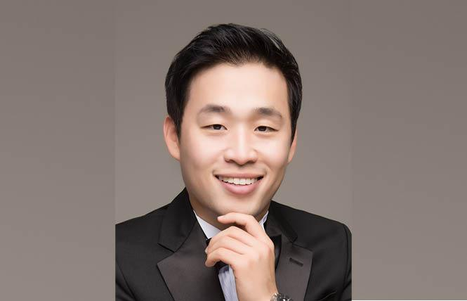 South Korean baritone SeokJong Baek appeared in recital. Photo: Schwabacher Recital Series